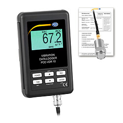 Shock Data Logger PCE-VDR 10-ICA incl. ISO Calibration Certificate
