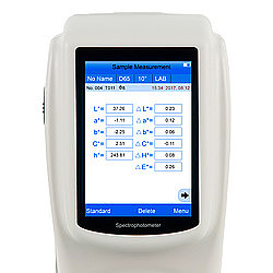 Spectrophotometer PCE-CSM 8 Display