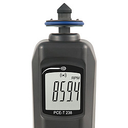 Tachometer PCE-T 238-ICA Incl. ISO Calibration Certificate