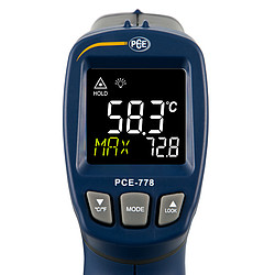 Temperature Meter PCE-778-ICA incl. ISO Calibration Certificate