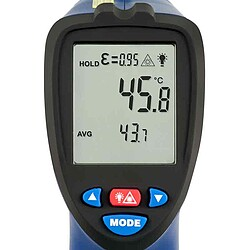 Temperature Meter PCE-890U display