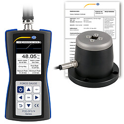 Torque Meter PCE-DFG N 50TW-ICA incl. ISO Calibration Certificate