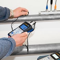 Ultrasonic Material Thickness Meter PCE-TG 50 Application