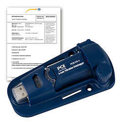 Vibration Analyzer PCE-VD 3-ICA incl. ISO Calibration Certificate