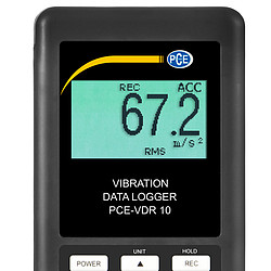 Vibration Data Logger PCE-VDR 10