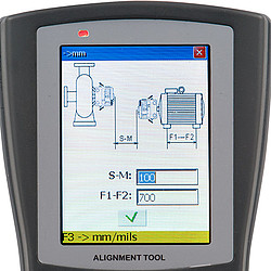 Vibration Meter PCE-TU 3 Display 3