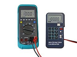 Voltage Calibrator PCE-123 application voltage