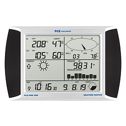 Weather Station PCE-FWS 20N display