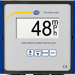 Wind Speed Meter PCE-WSAC 50W 24
