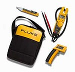 Fluke T5-600/62/1AC II IR Thermometer,Electrical Tester and Voltage Detector Kit