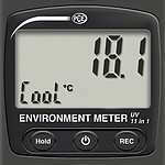 Air Velocity Meter PCE-EM 890 display