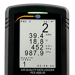 Display from Climate Data Logger.