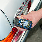 Coating Thickness Gauge PCE-CT 65 in Use