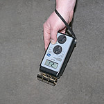 Concrete Absolute Moisture Meter Application.
