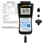 Condition Monitoring Tachometer PCE-T237-ICA Incl. ISO Calibration Certificate