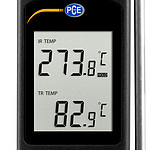 Condition Monitoring Temperature Meter PCE-IR 80-ICA Incl. ISO Calibration Certificate