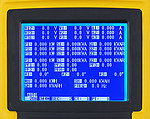 Current Clamp PCE-PA 8000 display
