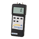 HVAC Meter Differential Pressure PCE-917-ICA Incl. ISO Calibration Certificate