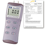 Differential Pressure Meter PCE-P30-ICA Incl. ISO Calibration Certificate