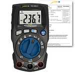 Digital Multimeter PCE-HDM 5-ICA Incl. ISO Calibration Certificate