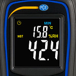Climate Meter PCE-444 Display