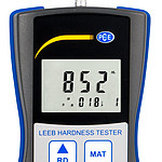 Hardness meter PCE-900 display