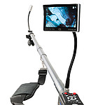 Inspection Camera with Telescoping Pole PCE-IVE 320 Control