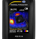 Infrared Imaging Camera PCE-TC 29 Display