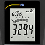 Light Meter PCE-174 display