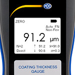 Coating Thickness Gauge PCE-CT 100 Display