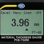 Material Thickness Meter PCE-TG 250