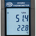 Multifunction Temperature Meter PCE-330-ICA Incl. ISO Calibration Certificate