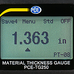 Thickness Test Instrument PCE-TG 250