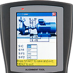Vibration Meter PCE-TU 3 Display 2