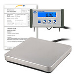 Weighing Platform PCE-PB 150N-ICA Incl. ISO Calibration Certificate