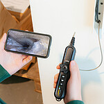 WiFi Borescope PCE-VE 500N application