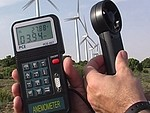 Wind Speed Meter PCE-007 application