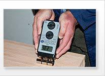 Detector de humedad de madera