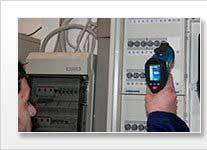 Medidor de temperatura láser