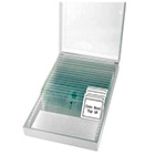 Porta-muestras para microscopio
