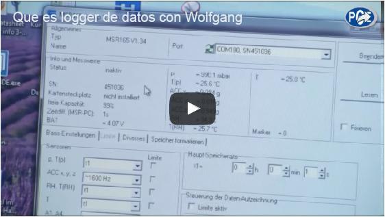 Qué es un logger de datos y cómo funciona con Wolfgang Rudolph