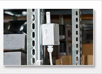 Sensor de humedad por microondas