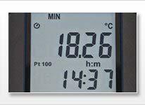 El termomero PCE-330 es ideal para realizar una medición rápida de temperatura y humedad ambiental.