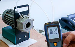 Manómetro de presión diferencial