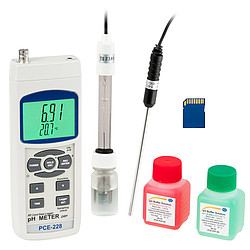 Kit para pH PCE 228 Kit