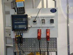 Medidores de potencia se podrían probar en el stand