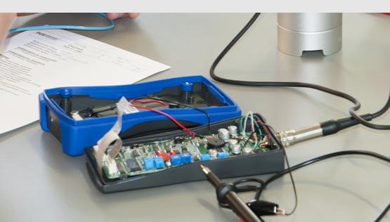 Desarrollo de equipos de medición