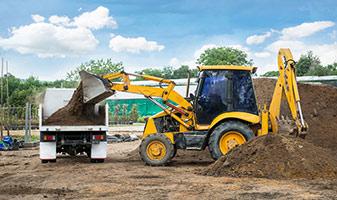 Pesaje indirecto: Registro de cargas hidráulicas en palas de carga y cargadoras con ruedas.