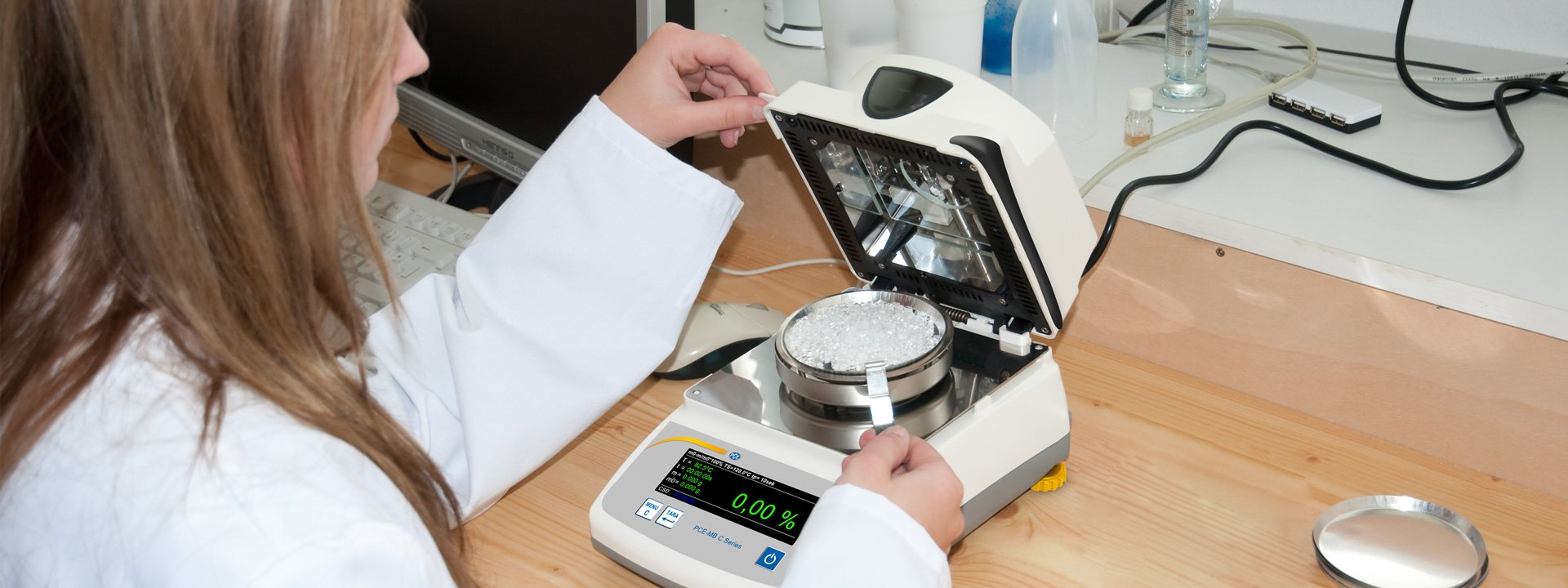 Laboratory equipment and scales for industrial and commercial requirements