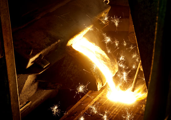 Industriellösungen für die Stahlinstrie.